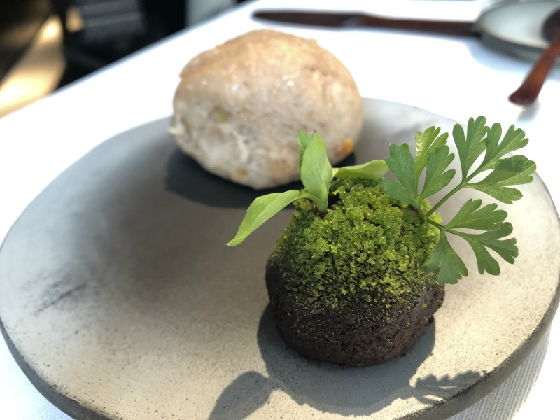 Narisawa bread of the forsest with moss