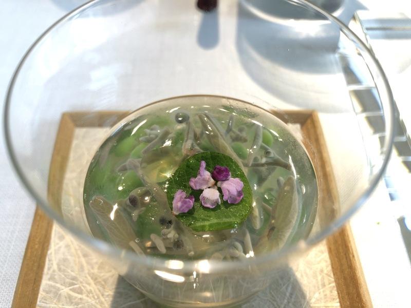 Narisawa junsai green caviar