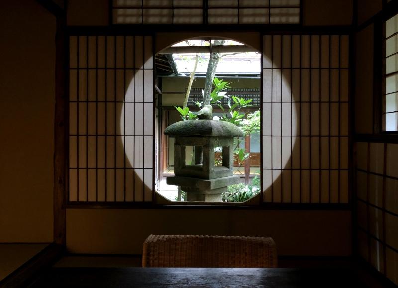 sowaka tea ceremony room door